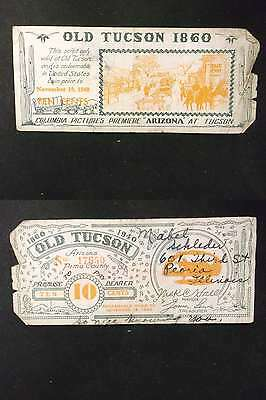 US 1940 Old Tuscon Coupon 10c
