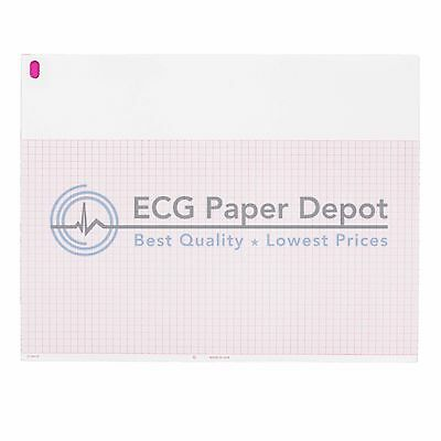 ECG-EKG Paper Burdick 7868 pack of 5 pads, free domestic shipping!