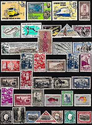 SOUTH AFRICA Stamps , Congo Stamps,Maroc Stamps,Mocambique Stamps