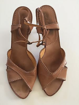 Sellers Ladies Leather Heels Size 41