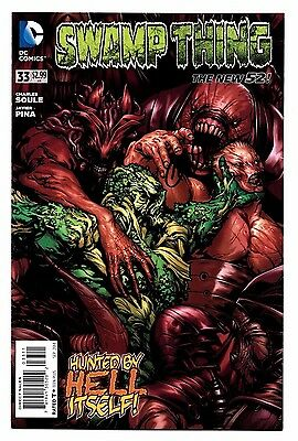 Swamp Thing #33 DC 2014 1st print Signed by Charles Soule Parliament Seeder