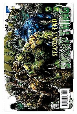 Swamp Thing #40 DC 2015 1st print Signed by Charles Soule Final Issue 9.0 VF/NM
