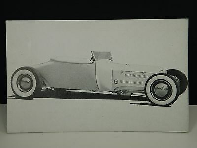 "Vintage Hot Rod Magazine Collector Exhibit PC PostCard 1927 Model ""T"" ROADSTER"