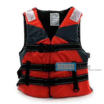 Adult Buoyancy Aid Sailing/Fishing Kayak Life Jacket Red New In Stock