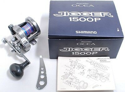 Shimano OCEA JIGGER 1500P Jigging Reel Good