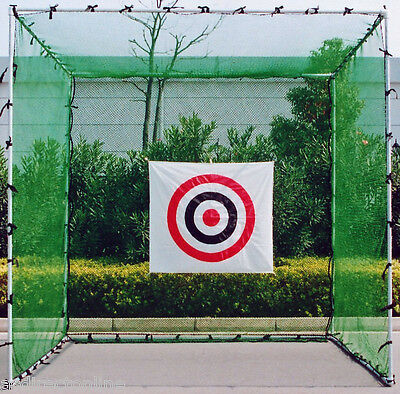 "OUTDOOR CRICKET NET - ""Great for Bowling & Batting"" Practice - 3m x 3m x 3m"