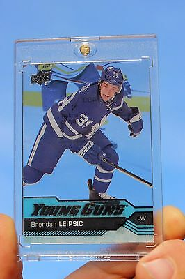2016-17 Brendan Leipsic UD Young Guns Clear Cut Acetate #499 Rookie RC