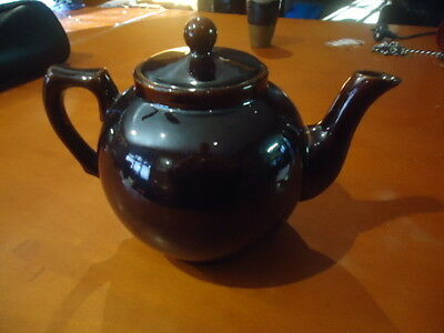ANTIQUE LATE 1800s AUSTRALIAN POTTERY TEAPOT STAMPED