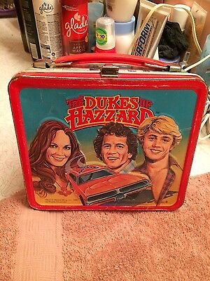 Dukes of Hazzard Lunch Box w/ Thermos 1980 General Lee