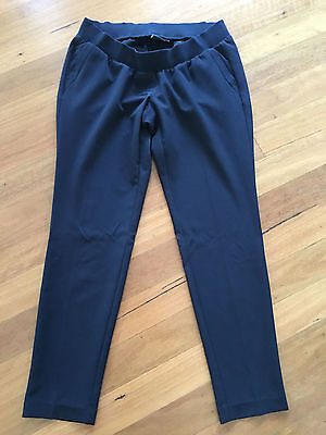 Next brand black maternity work trousers