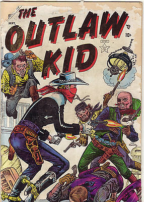 The Outlaw Kid #1 - Sep. 1954