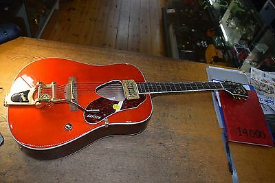 Gretsch Rancher Dreadnought w/Bigsby Tremelo - Savannah Sunset - (G5034TFT)