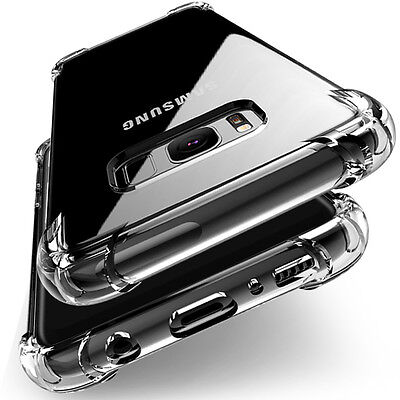 360° Shockproof Soft Silicone Transparent TPU Case Cover For Samsung Galaxy sd