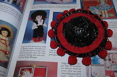 "RARE 1954 Cosmopolitan #556 Ginger 8"" MEXICAN Hat with pom poms Pristine MINT!"