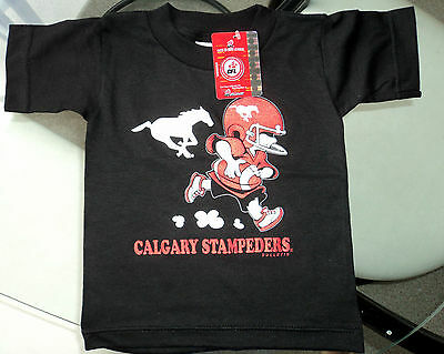 CALGARY STAMPEDERS CFL Football New BABY T-Shirt Size 6 months Infant Shirt