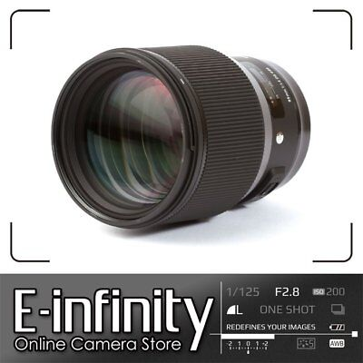 NUOVO Sigma 85mm f/1.4 DG HSM Art Lens for Canon EF
