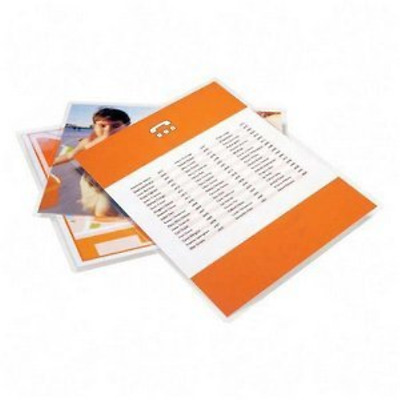Letter Size Pouches-3 Mil Clear Glossy Finish 100 Box Silicone Coated Protect