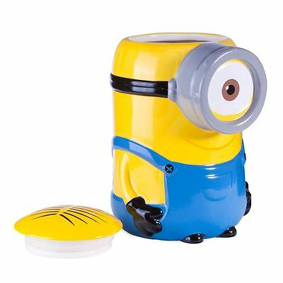 Officially Licensed Minions Ceramic Sweets and Treats Jar