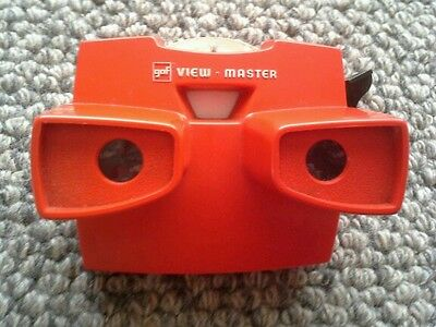 3D gaf Made in Belgium Viewmaster Classic Red Colour