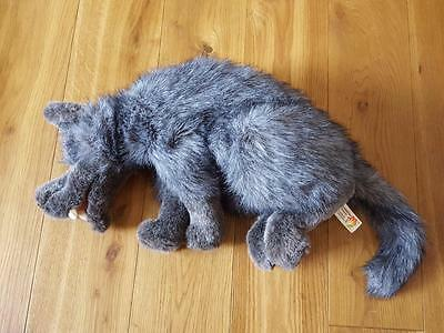 "Big Bad Wolf Furry Folk Puppet 30"" Plush Stuffed Toy By Folktails Folkmanis RARE"