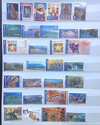 Australian International Post Stamps - F/U (50 Stamps)