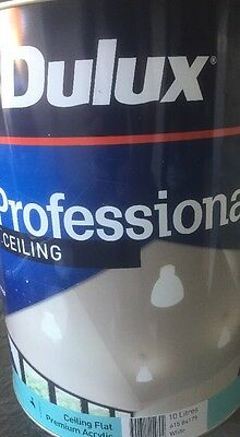 Dulux Professional Ceiling Flat Paint (COLOURED TO LEXICON) 10 Liters