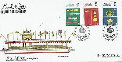 Brunei   Stamps   First day cover 1986