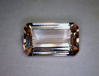 1.81 Ct Morganite, Octagon, Bright Peach-Pink, Earth Mined, Unheated/untreated