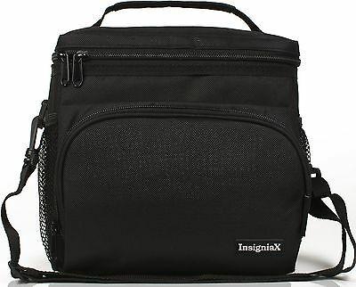 Insulated Lunch Bag InsigniaX For Men Women Girls Adults Work Top Quality PP