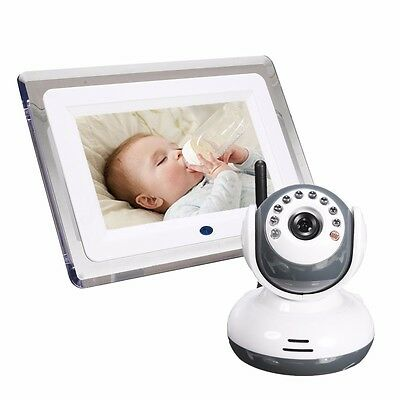 7 Inch 2.4G Baby Safety Security Digital Monitor Camera Video Audio Night Vision