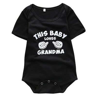 Newborn Baby Casual Clothes Infant Girls Boy Romper Bodysuit  Jumpsuit Outfits