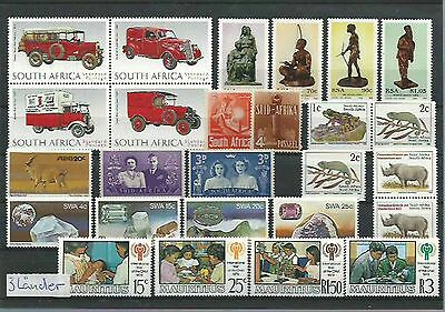 11.173/ Lot / Mixture ** MNH aus Afrika