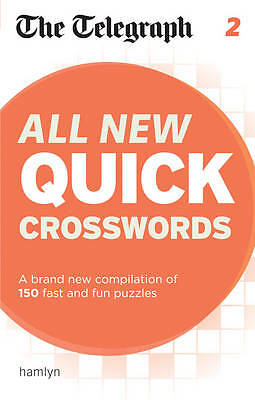 The Telegraph: All New Quick Crosswords 2 (The Telegraph Puzzle Books),New Condi