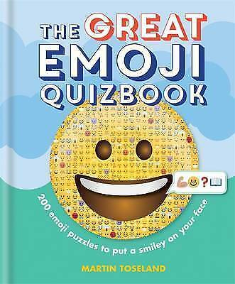 The Great Emoji Quizbook by Toseland, Martin