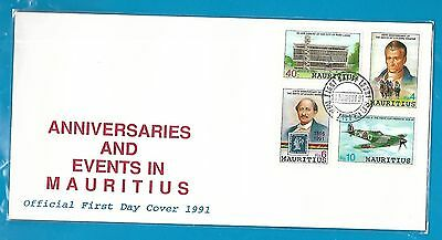 Anniversary&events, Sealed Official First Day Cover.unaddress,18Aaug1991