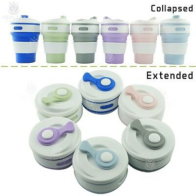 Reusable Coffee Cup - Silicone Collapsible