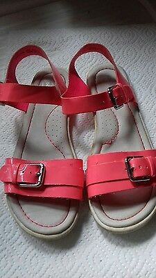 Girl's pink sandals Next size 2