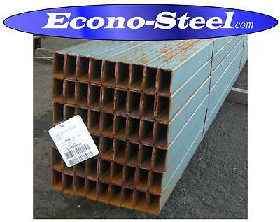 STEEL RHS  RECTANGLE TUBE PAINTED 65x35x2.5x8 MT LONG . SECONDS, MORE BELOW