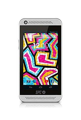 SPC 5088S MP4 8GB Silver - MP3/MP4 players (MP4 player, Android, Mali 400MP2, Si