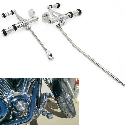 Polished Forward Controls Foot Pegs For Harley Lower Rider Super Glide 2000-2013