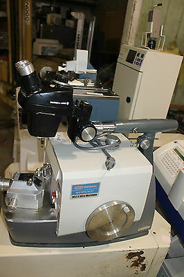 DuPont Sorvall MT2-B Ultra Microtome With Microscope and Stand