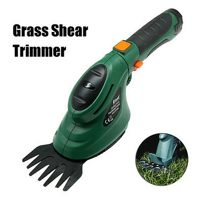 Electric Grass Shear Hedge Trimmer Cordless 3.6V Lawn Mower Yard Garden Tool New