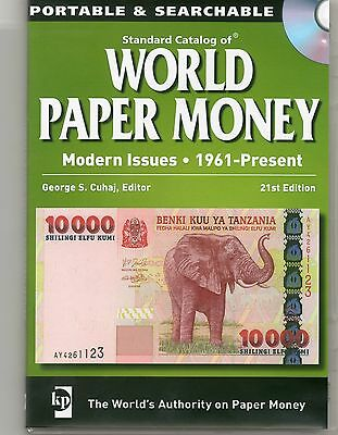 Standard Catalog of World Paper Money CD Modern Issues 1961-Present 21st Edition