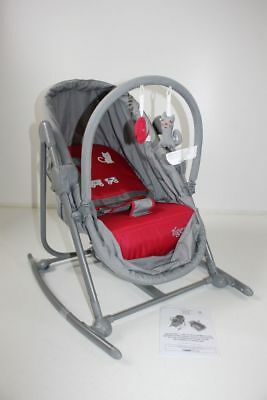 TIGEX Love Circus Babywippe Wiege 2 in 1