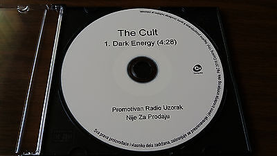 The Cult - Dark Energy rare promo CD single no vinyl record