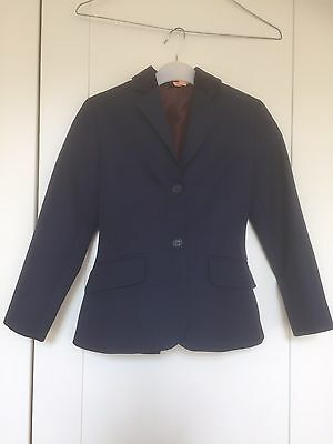 """Child's Riding / Showing Jacket- Navy Blue 26"""""""