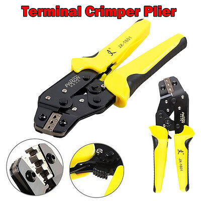 0.14-1.5 mm Crimper Terminal Crimping Tool Pliers Cable Wire Ratchet Stripper