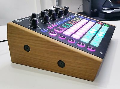 Solid Oak Stand For Novation Circuit Synth Drum Machine