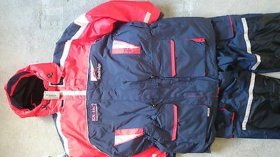sundridge thermal floatation suit size large - xl