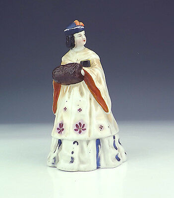 Antique German Porcelain - Erotic Lady With Man Under Skirt - Unusual!